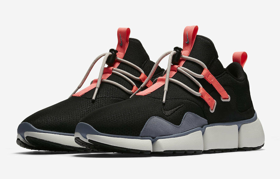 Mens Nike NikeLab Pocketknife DM 910571-001 Black Black NEW Size 8