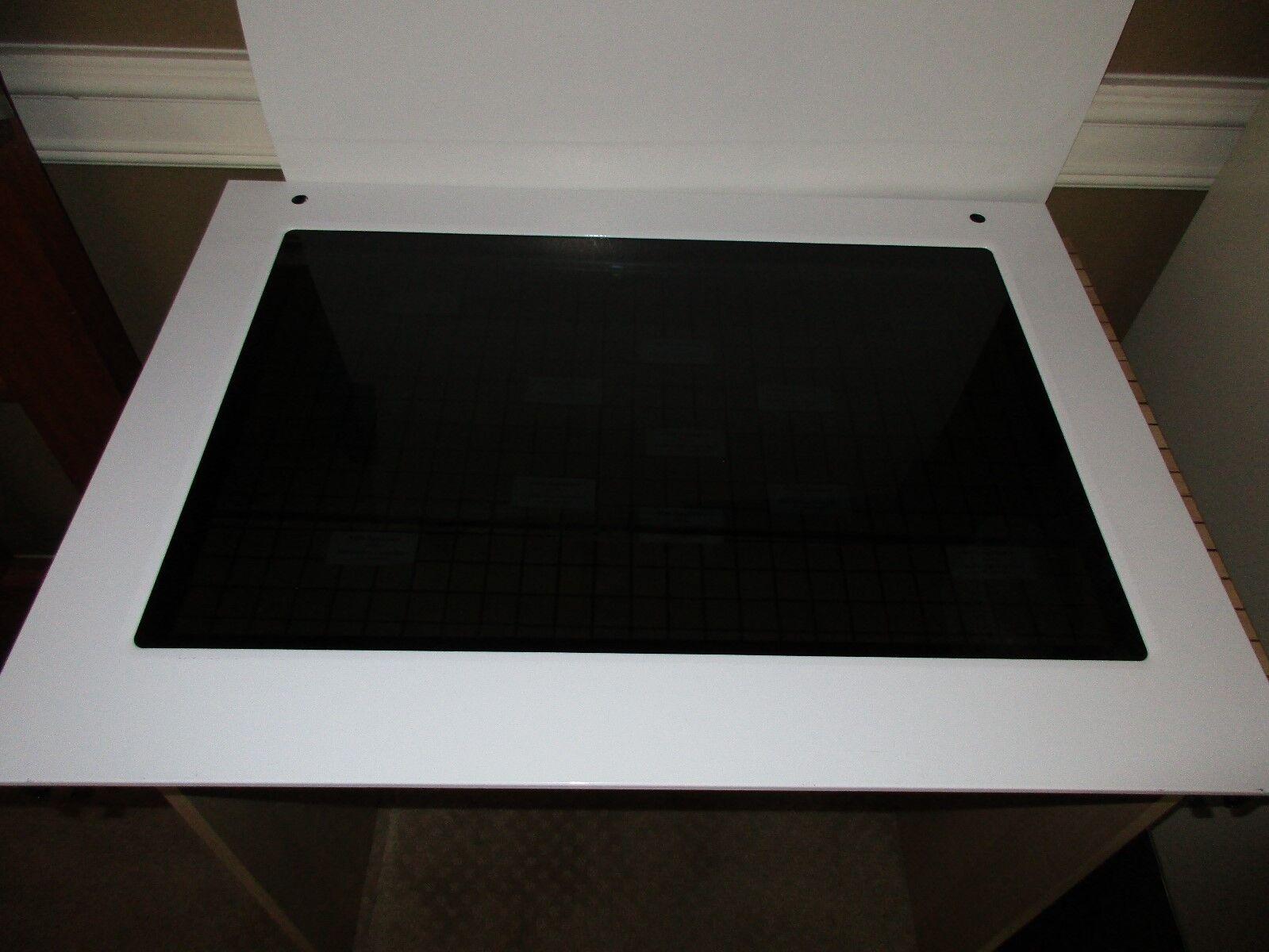 NEW Kitchen Aid Door Glass - Weiß W10582013 SATISF GUAR & Free Expd Ship