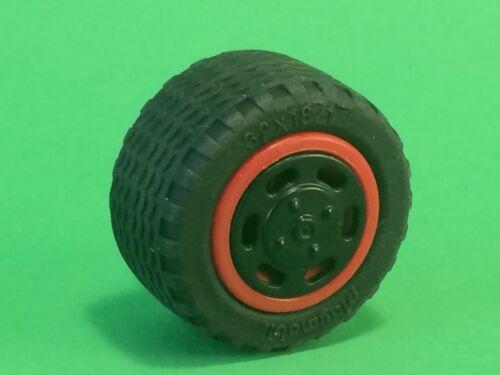 Playmobil Auto Ersatzteil Rad Reifen mit Radkappe aus 4059 Fluchtfahrzeug #n178