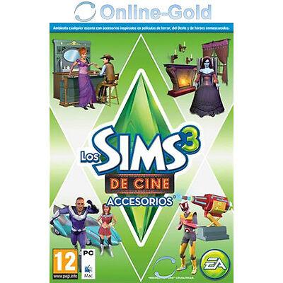 Los Sims 3 De Cine Accesorios Movie Stuff Pack Expansión PC Origin [ES][Nuevo]