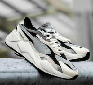 Details about Puma RS-X³ Puzzle - Limestone / Whisper White - Sizes 3-12UK  371570-01