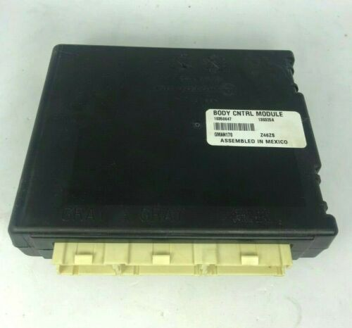 Body Control Module ACDelco GM Original Equipment 10350647 Reman
