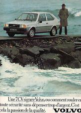 Publicité Advertising 1979  VOLVO 343 DL  boite mécanique 7 CV