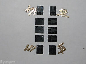 Female-Traxxas-style-Connectors-10pcs-with-pins-RC-Plugs