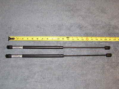 "2ea 20/"" 20# RV Coach Van NP Gas Strut Shock Spring Prop Lift Rod Arm 20lb 20in"