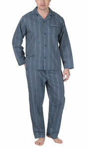 Traditional Cream Woven And Xl Stripe Set Mens Pyjama Cookies Blue aZPTFqWc