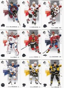 2016-17-SP-AUTHENTIC-HOCKEY-base-cards-lot-PICK-your-15-cards