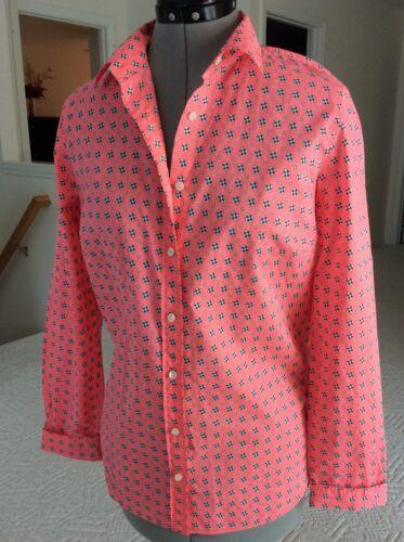 størrelse Shirt Us Jcrew 12 Kvinder flerfarvet Pink PI1Bq