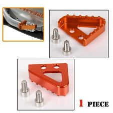 Orange Step Plate For KTM Brake Pedal Lever 690 950 990 SMC SM DUKE ADVENTURE