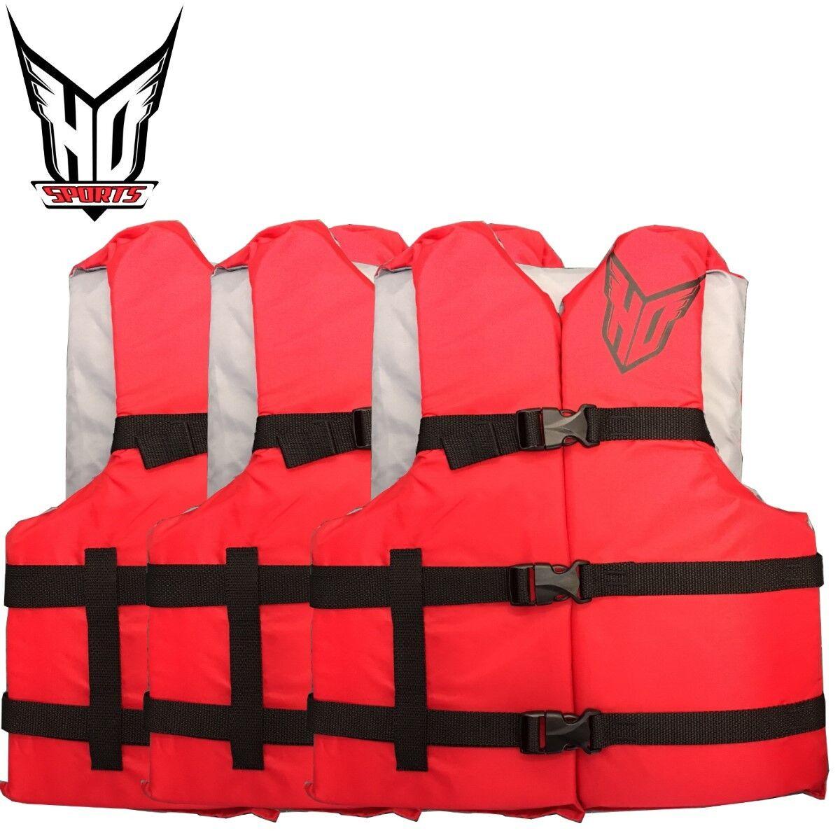 HO SPORTS Universal Schwimmweste Rettungsweste Nylon Weste Weste Weste Stiefelweste SET 00782e
