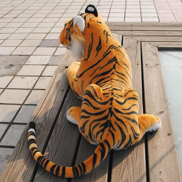 Hot Artificial Animal Tiger Plush Doll Cloth Kid Children Simulation Stuffed Toy