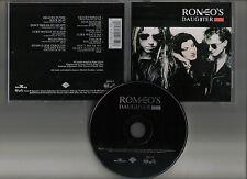 ROMEO'S DAUGHTER - S/t Same ST CD 1988 RARE AOR FEMME FATALE VIXEN LAOS T-BELL