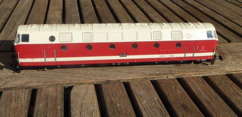 Gützold 34320 Carcasa Locomotora Diésel Br 119 139-4 Dr Ep.4 Lok de Bw