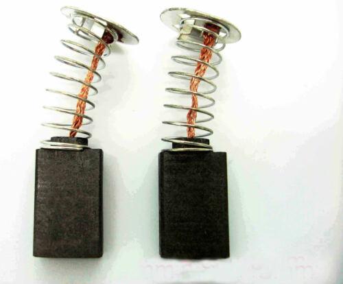 Carbon Brushes For Performance Power NLH850BS Belt Sander D12