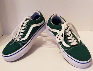aade0f4aeb0 Vans Old Skool Hunter Green Men s 5.5   Women s 7.0 slightly used