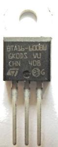 BTA16-600BW-GENUINE-Thyristor-TRIAC-600V-168A-TO-220AB-internally-Isolated-x5pcs