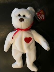 af50241f2d4 Image is loading TY-VALENTINO-BEANIE-BABY-RARE-with-8-errors