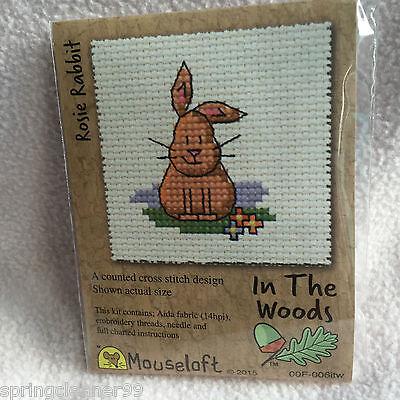 Trevor the Rabbit Stitchlet by Mouseloft Counted Cross Stitch Kit