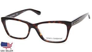 b3358e8af7f2 NEW D G Dolce Gabbana DG3215 502 HAVANA EYEGLASSES GLASSES FRAME 54 ...