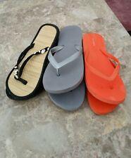 Women's  3 pc Lot of Sandels, Flip-flops  sz 7/8