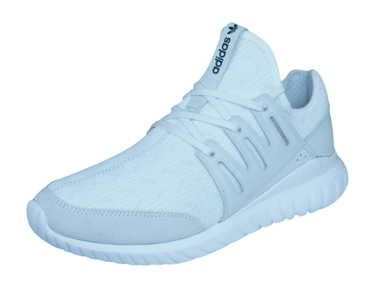 Mens adidas Originals Sneakers Tubular Radial PK Primeknit Sports shoes - White