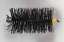 thumbnail 2 - CFC035 125mm/5 inch dia Polypropylene Pull Thru Flue Brush 200mm long