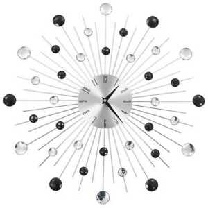 Detalles de vidaXL Reloj Pared Moderno Diseño Rayos Original Decoración  Salón Baño Cocina