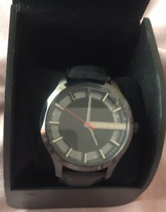 d8056320 Brand New Genuine Men's Armani Exchange AX Watch Leather Strap | eBay