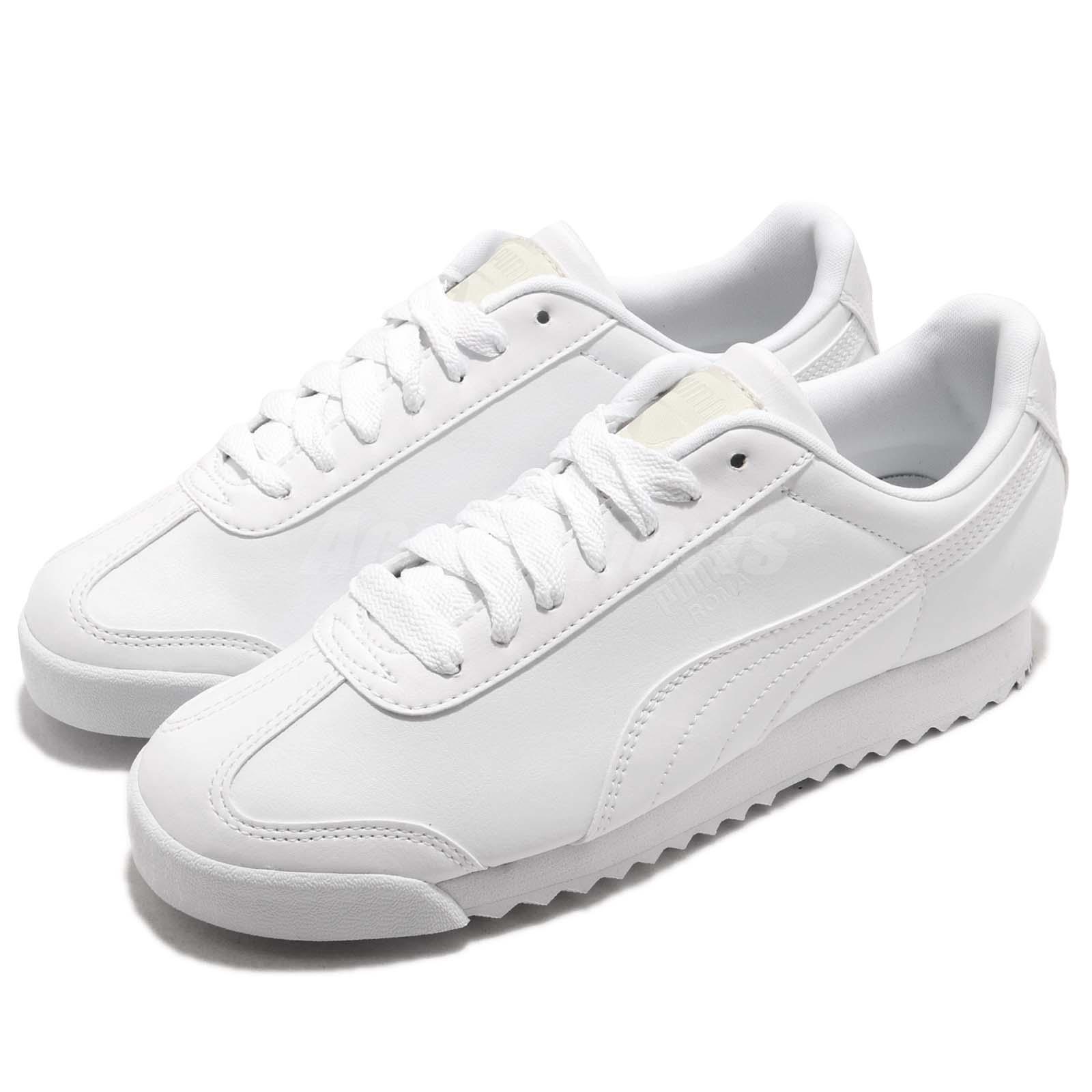 Puma Roma Basic blanc hommesfemmesRunning Walking CasualChaussuresSneakers 353572-21