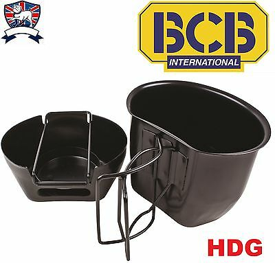 BRITISH ARMY ISSUE BCB CRUSADER UNIT STOVE + MUG/CUP Fits 58Pat Bottle