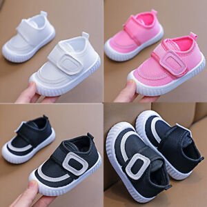 Baby Toddler Infant Kids Boys Girls Casual Walk Sports Sneakers Breathable Shoes