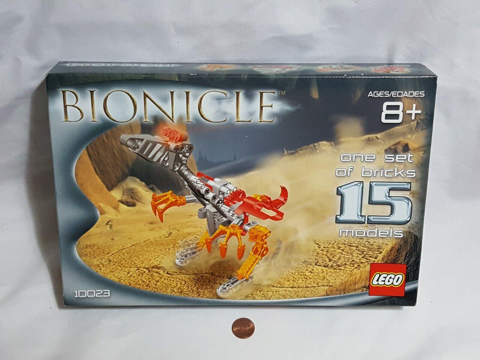 nuovo Read Lego Bionicle Set 10023 SEALED 1 Set 15 modellolos legos bionacle giocattoli
