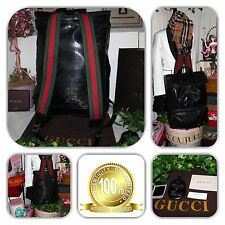 NWOT-COUTURE-500 BY GUCCI LIMITED EDITION X-LG SHERRY LINE IMPRIME GG BACKPACK!