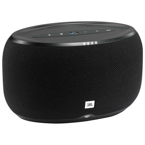 JBL Link 300 Voice-Activated Bluetooth Wi-FI Speaker with Google Assistant