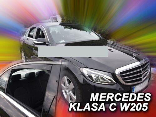 Derivabrisas para mercedes clase c Exclusive w205 2014-sedán para trasera escalonada 4tü