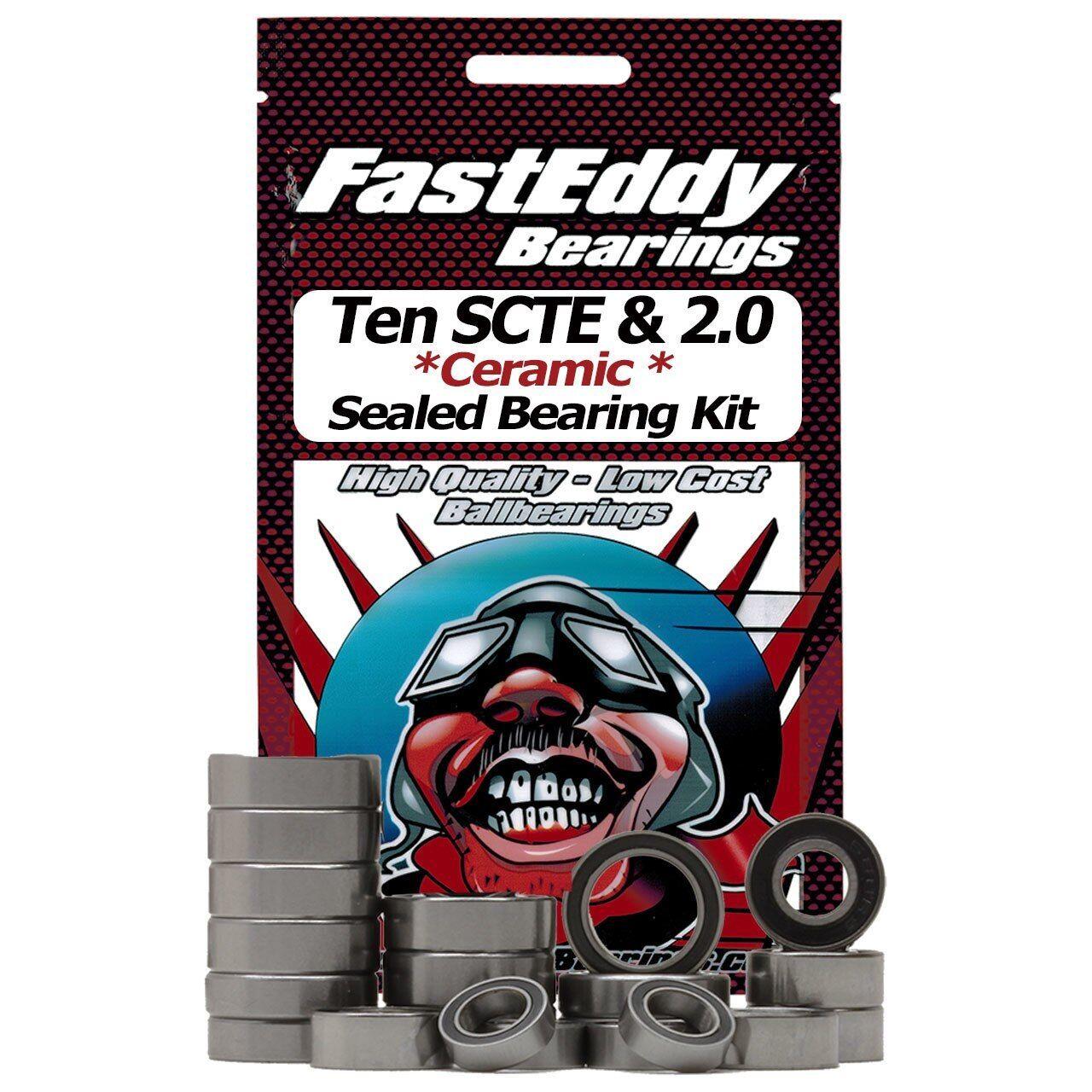 Squadra  FastEddy Fast Eddy Losi Ten SCTE & 2.0 Ceramic Sealed orsoing Kit  divertiti con uno sconto del 30-50%