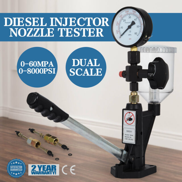 Diesel Injector Nozzles Tester Device Test Tool Practical Injection Pump