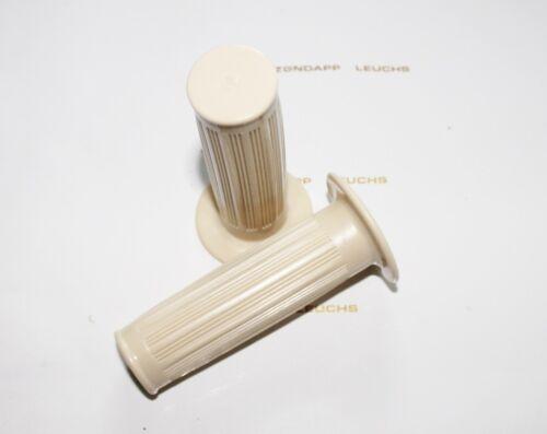 Zündapp Elfenbein Griffe  22//24mm Griffgummi Sport Combinette Typ 515