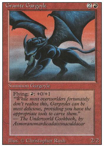Granite Gargoyle x4 4x Played Revised
