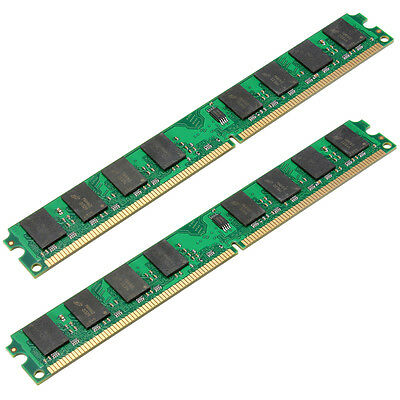 New 4GB 2x2GB DDR2 800 PC2 6400 240 Pin DIMM Memory RAM For AMD CPU ONLY