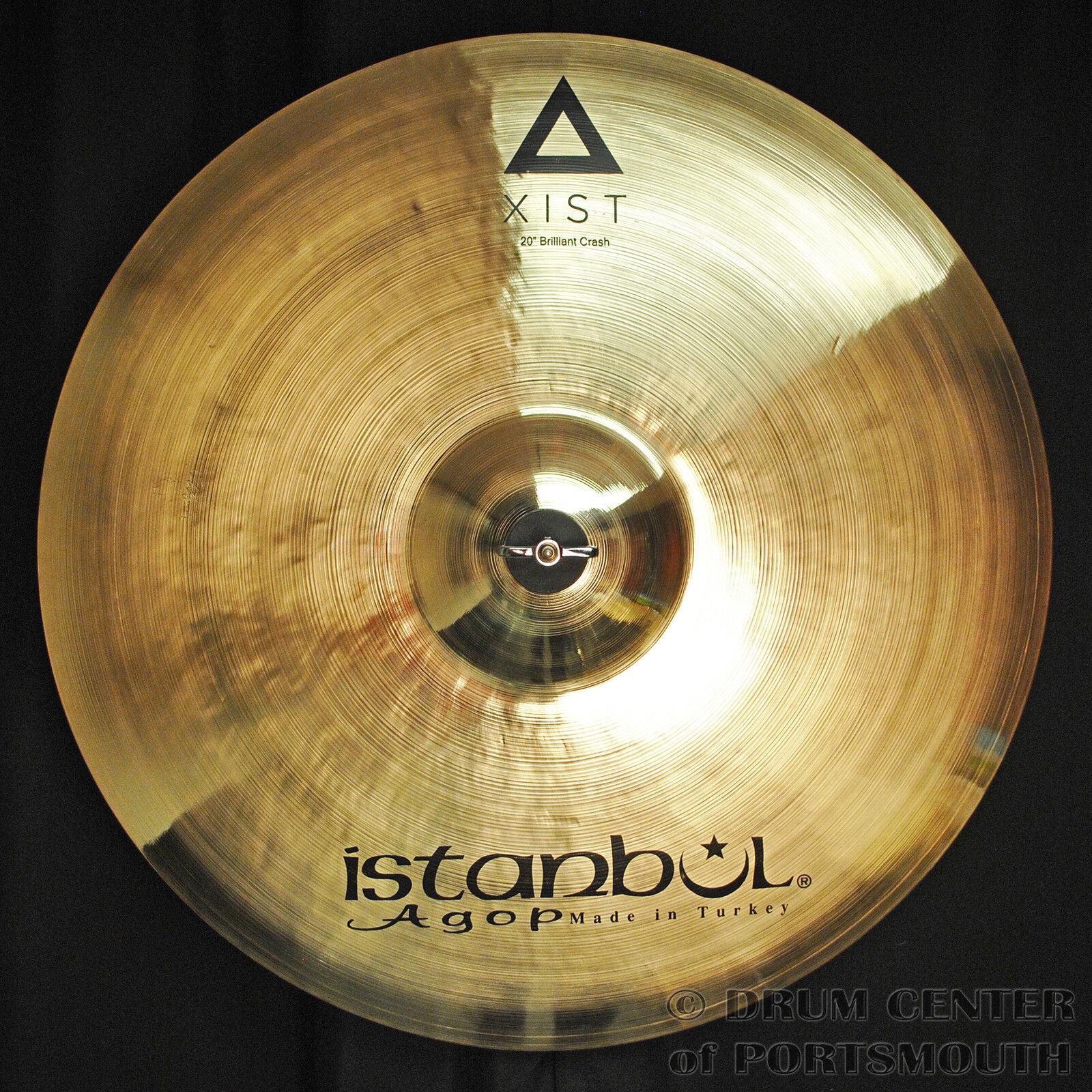 Istanbul Agop Xist Brilliant Crash Cymbal 20  - Video Demo