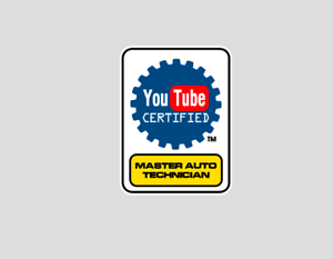 Funny Youtube certified Master Auto Technician Mechanic Professional ASE Sticker