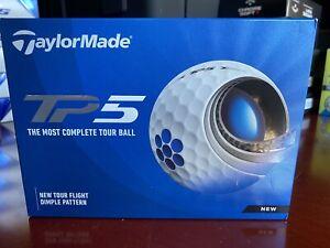 Taylormade TP 5 golf balls 4 dz