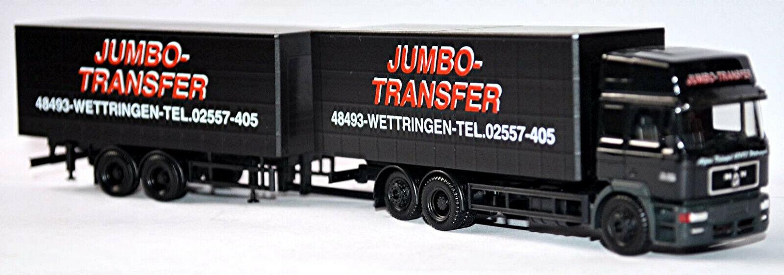 Man F 2000 Evo HD T FRAR555533;65533; ndem Hz Jumbo -Transfer Wettingen Herpa