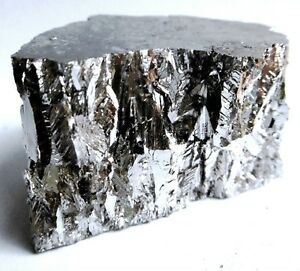 Bismuth Metal 1kg 99 99 Pure Bullion 4n Grade Bar Ingot