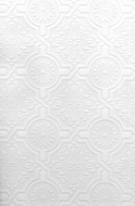 Faux Tin Ceiling Tile Textured Paintable Ornate Tiles