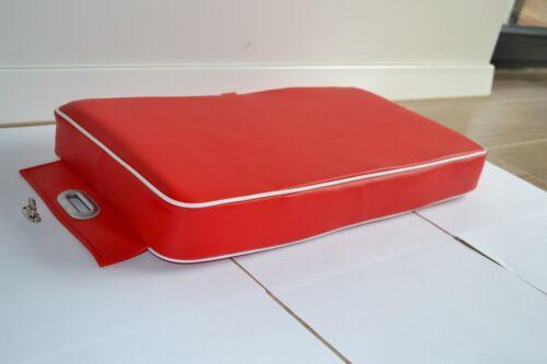 Deutz Beifahrerkissen Sitzkissen Sitzpolster Beifahrer rot// gerade Sitzfläche