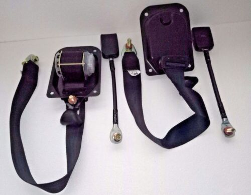 SUZUKI SJ413 2 POINT LAP SEAT BELT PAIR DROVER SAMURAI SIERRA JIMNY GYPSY