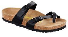 Birkenstock Mayari Womens Thong Slide Sandals Patent / Birko-Flor Leather Shoes