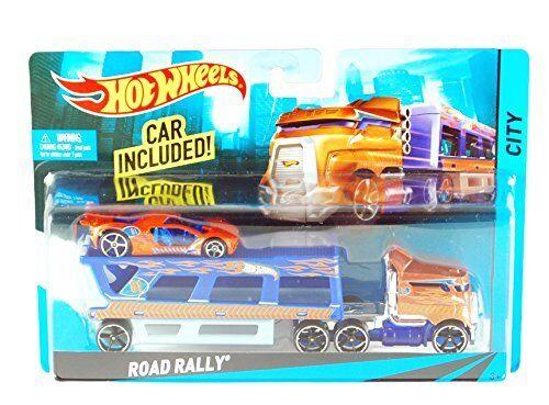Hot Wheels City Road Rally Toy Car Set
